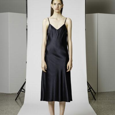 Gavalcová satén šaty